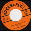 Five Chavis Brothers - Baby Don't Leave Me / Old Time Rock 'n' Roll