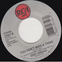 Arnold Eddy - You Don't Miss A Thing / Just One Time
