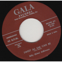 Adkinson Billy - Sweet As She Can Be / Sugar Lump