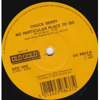 oldies/berry chuck - no particular place to go (old gold)