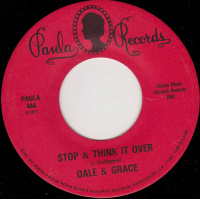 oldies/dale & grace - stop and think it over (paula records)